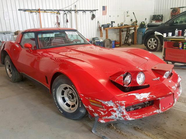 1980 Corvette For Sale >> Branded Salvage Cert 1 1980 Chevrolet Corvette For Sale In Seaford