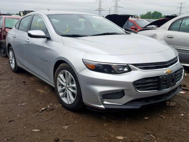 Salvage 2018 Chevrolet MALIBU LT for sale