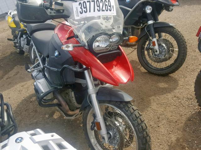 Salvage 2005 BMW R1200 GS for sale