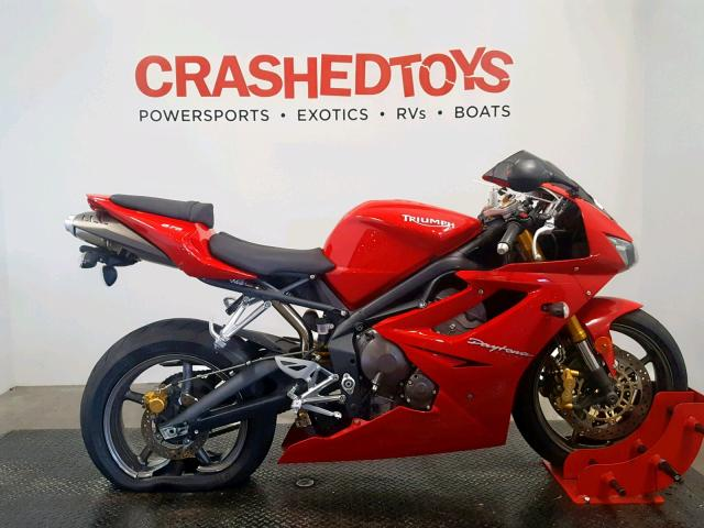 click here to view 2007 TRIUMPH MOTORCYCLE DAYTONA 67 at IBIDSAFELY