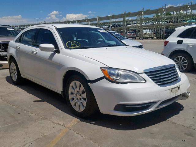 2013 CHRYSLER 200 LX Photos | CO - DENVER SOUTH - Salvage Car