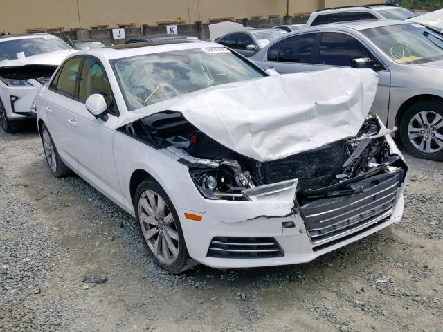 Salvage 2017 Audi A4 ULTRA P for sale