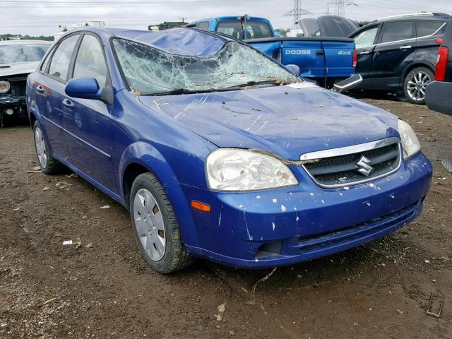Suzuki Forenza BA salvage cars for sale: 2008 Suzuki Forenza BA