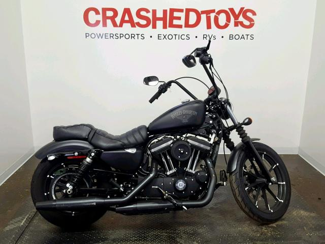 click here to view 2017 HARLEY-DAVIDSON XL883 IRON at IBIDSAFELY