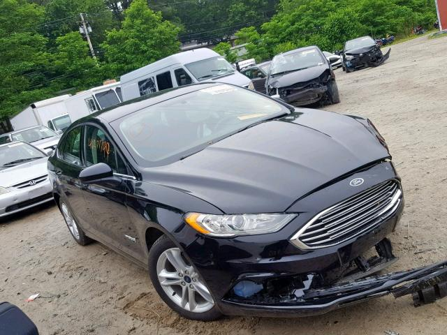 Salvage 2018 Ford FUSION SE for sale