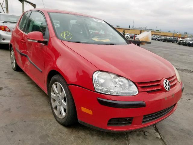 Salvage 2007 Volkswagen RABBIT for sale