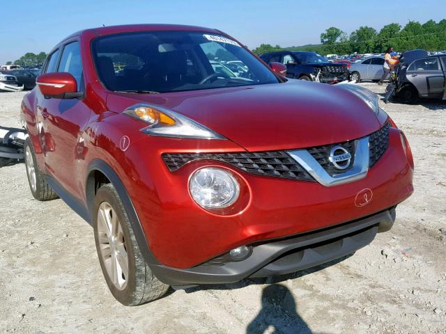 Salvage 2015 Nissan JUKE S for sale