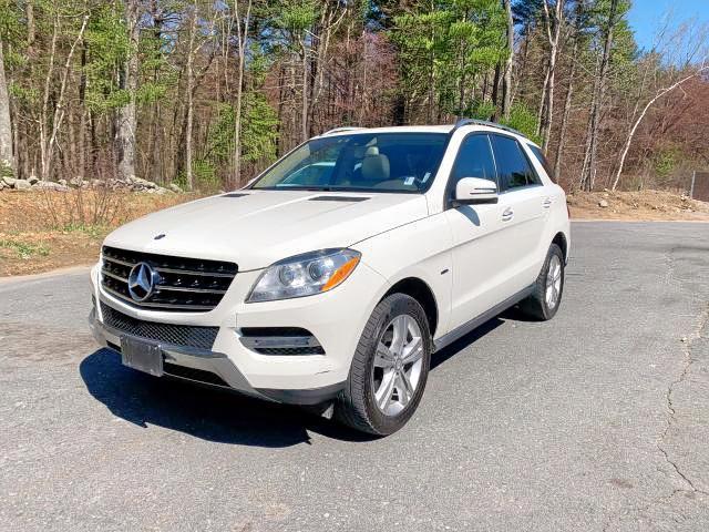4JGDA2EB8CA069064 - 2012 Mercedes-Benz Ml 350 Blu 3.0L Right View