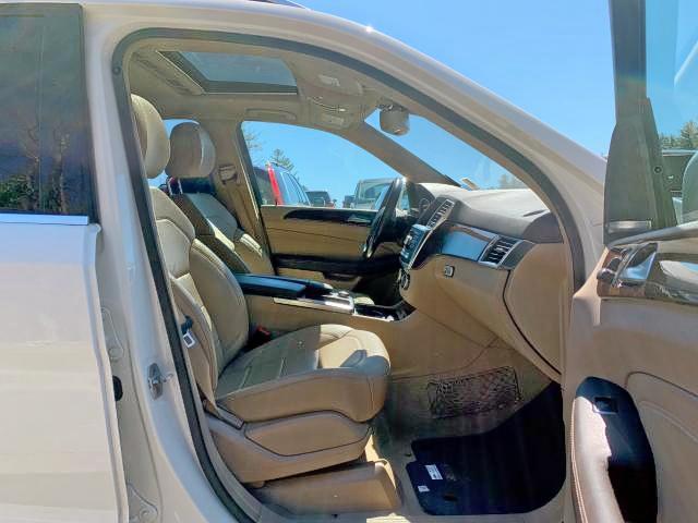 4JGDA2EB8CA069064 - 2012 Mercedes-Benz Ml 350 Blu 3.0L close up View