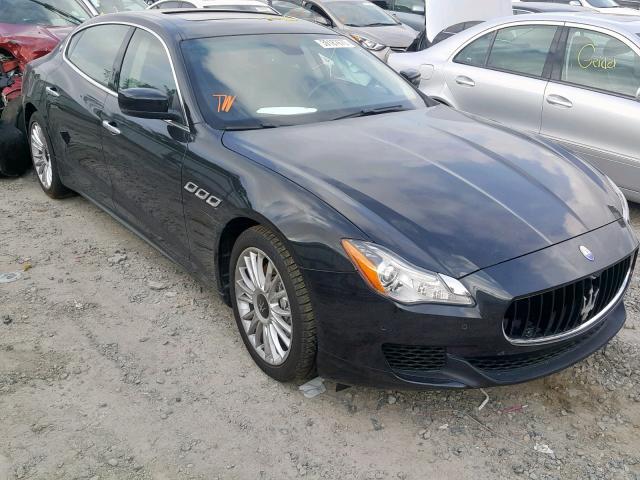 Salvage 2014 Maserati QUATTROPOR for sale