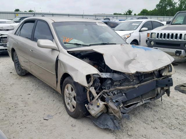 Salvage 2000 Toyota AVALON XL for sale