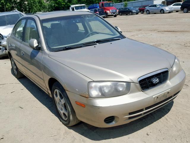 2002 Hyundai Elantra Gl 2.0L