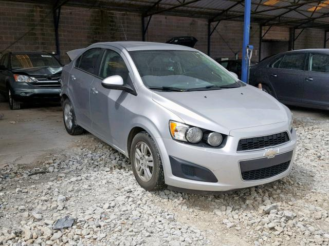 Salvage 2014 Chevrolet SONIC LT for sale