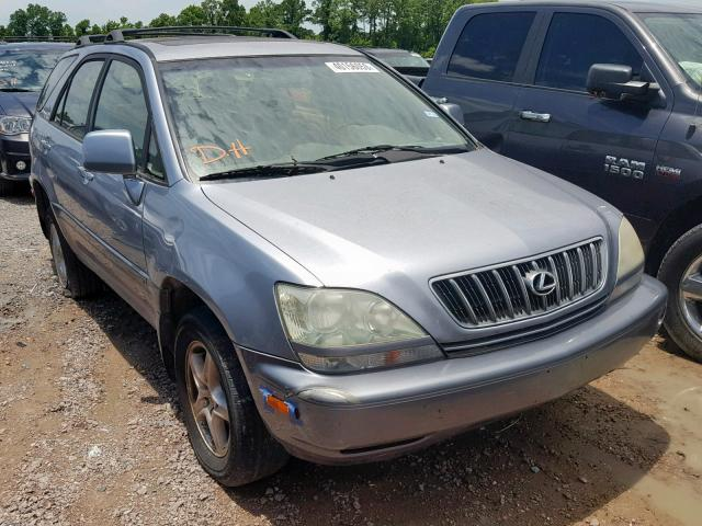 Salvage cars for sale from Copart Houston, TX: 2003 Lexus RX 300