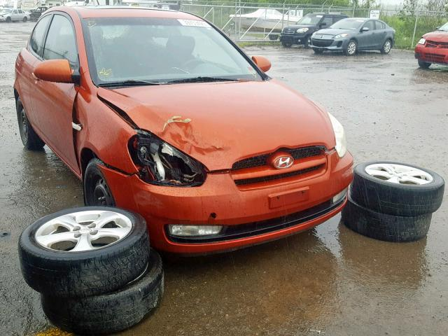 Hyundai Accent Base salvage cars for sale: 2007 Hyundai Accent Base