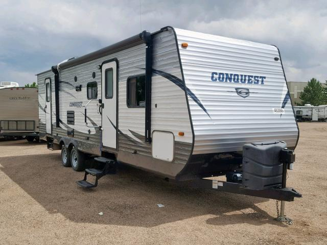 Gulf Stream Conquest salvage cars for sale: 2016 Gulf Stream Conquest