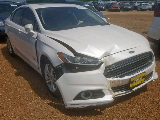 Salvage 2015 Ford FUSION TITANIUM for sale