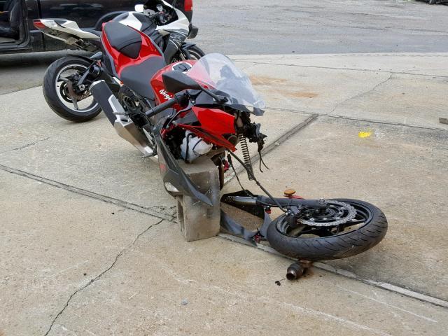 Salvage 2019 Kawasaki EX400 for sale