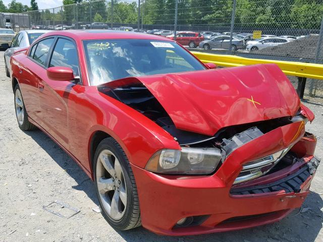 Salvage 2012 Dodge CHARGER SX for sale