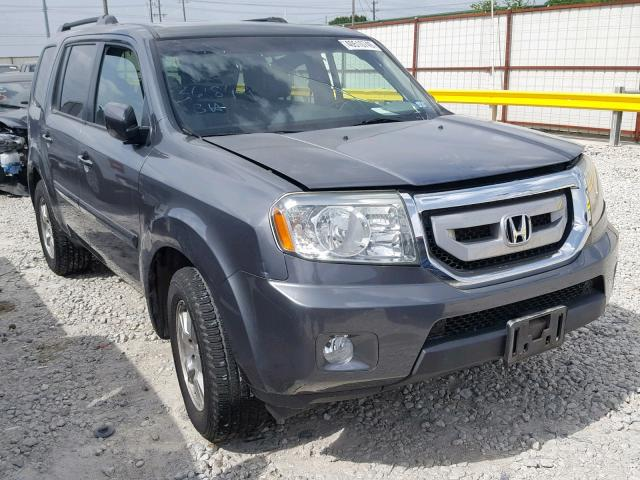 Salvage 2011 Honda PILOT EXLN for sale