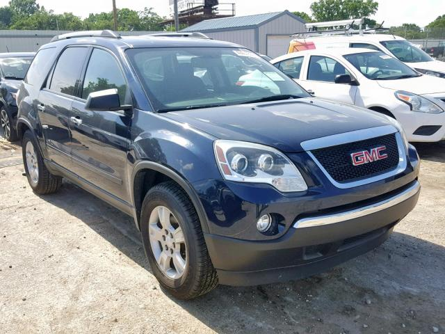 Salvage cars for sale from Copart Wichita, KS: 2012 GMC Acadia SLE