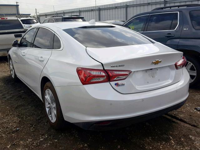 2019 Chevrolet Malibu Lt 1 5l 4 For Sale In Mercedes Tx Lot 40482669