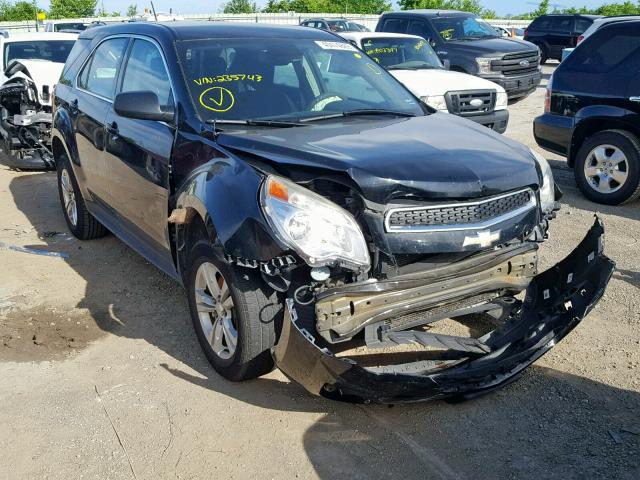 Salvage 2013 Chevrolet EQUINOX LS for sale