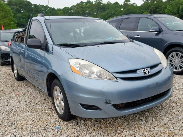 Salvage 2008 Toyota SIENNA CE for sale