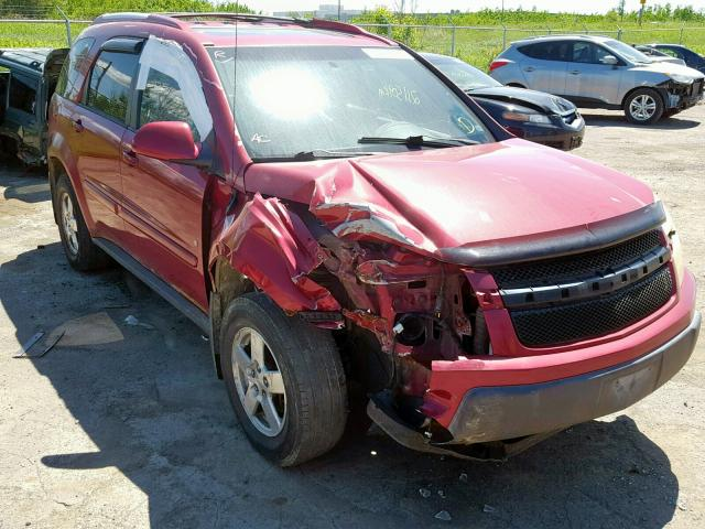 Salvage 2006 Chevrolet EQUINOX LT for sale