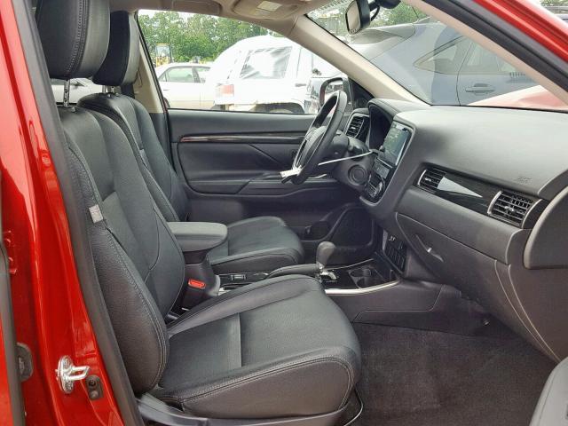 2017 Mitsubishi Outlander 2 4L 4 for Sale in Ellenwood GA - Lot: 40560929