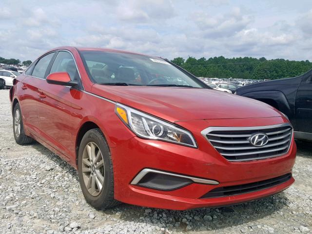 Salvage 2017 Hyundai SONATA SE for sale