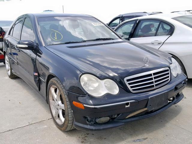 Salvage 2007 Mercedes-Benz C 230 for sale