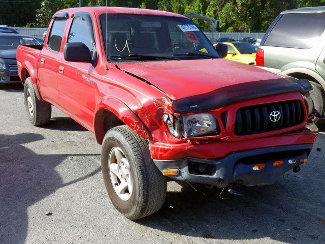 Salvage 2004 Toyota TACOMA DOU for sale