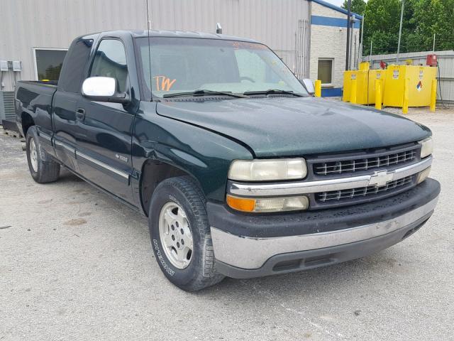 Salvage 2001 Chevrolet SILVERADO for sale