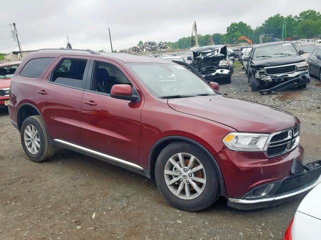 Dodge Durango SX salvage cars for sale: 2019 Dodge Durango SX