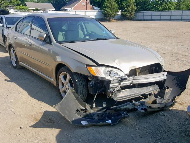 Salvage 2008 Subaru LEGACY 2.5 for sale