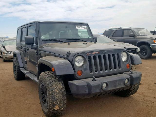 Jeep Wrangler U salvage cars for sale: 2009 Jeep Wrangler U