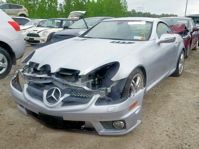 2009 Mercedes Benz Slk 55 Amg 5 5l 8 For Sale In Leroy Ny Lot 41157749