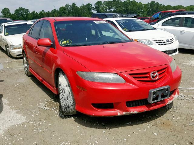 Salvage 2004 Mazda 6 I for sale