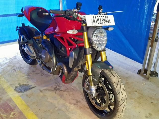 Salvage 2014 Ducati MONSTER 12 for sale