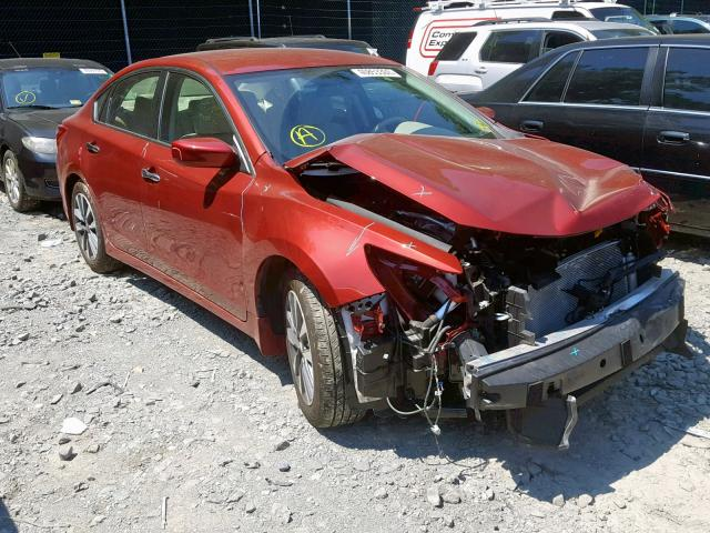 Salvage 2017 Nissan ALTIMA 2.5 for sale