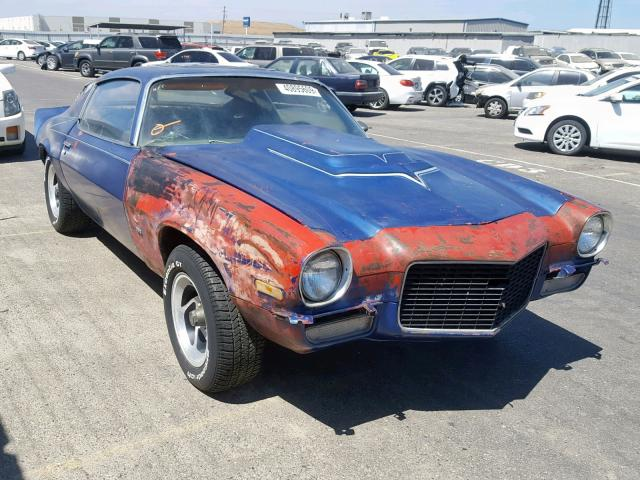 Auto Auction Ended on VIN: 124870L507310 1970 Chevrolet Camaro