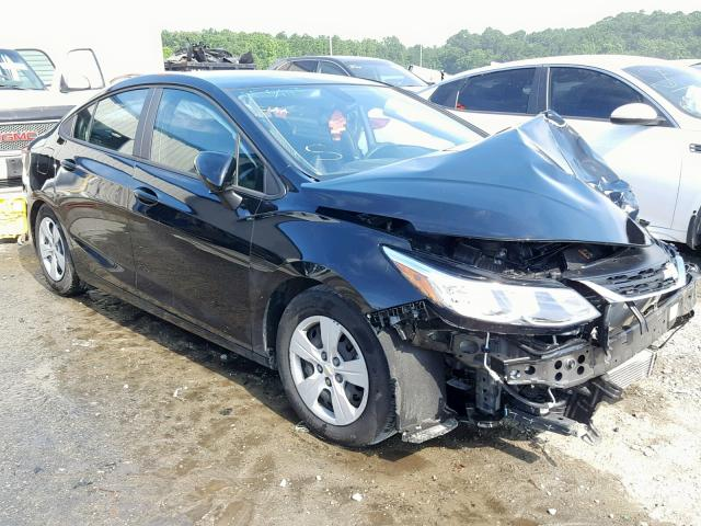 Salvage 2018 Chevrolet CRUZE LS for sale