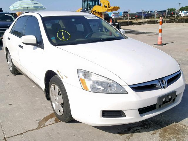 Salvage 2007 Honda ACCORD VAL for sale