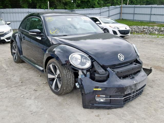 Salvage cars for sale from Copart Angola, NY: 2013 Volkswagen Beetle Turbo
