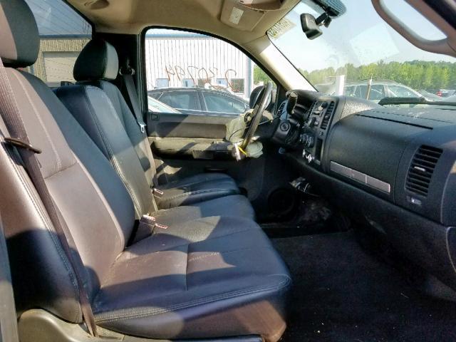 Salvage Title 2008 Chevrolet Silverado Pickup 4 8l 8 For Sale In