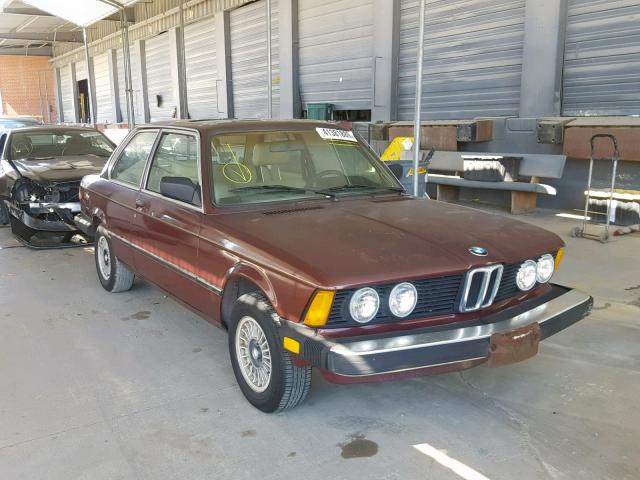 click here to view 1983 BMW 320 I at IBIDSAFELY