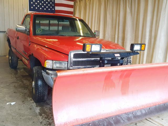 Clean Title 1996 Dodge Ram 2500 Pickup 8 0L 10 For Sale in
