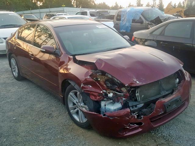 Salvage 2010 Nissan ALTIMA SR for sale