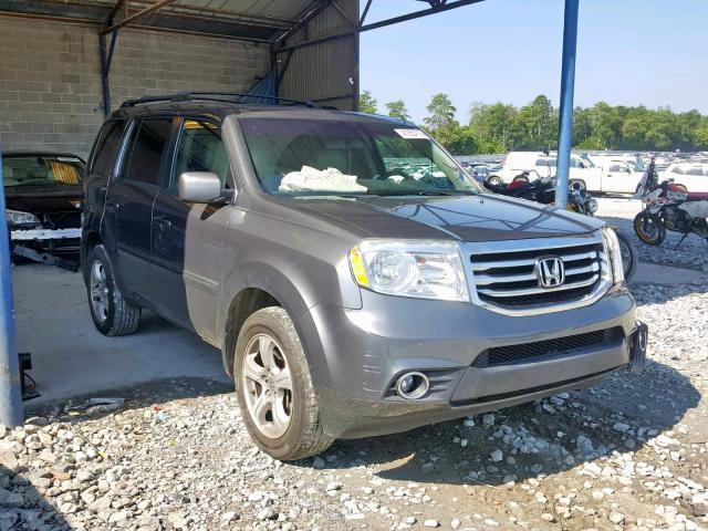 Salvage 2012 Honda PILOT EXLN for sale